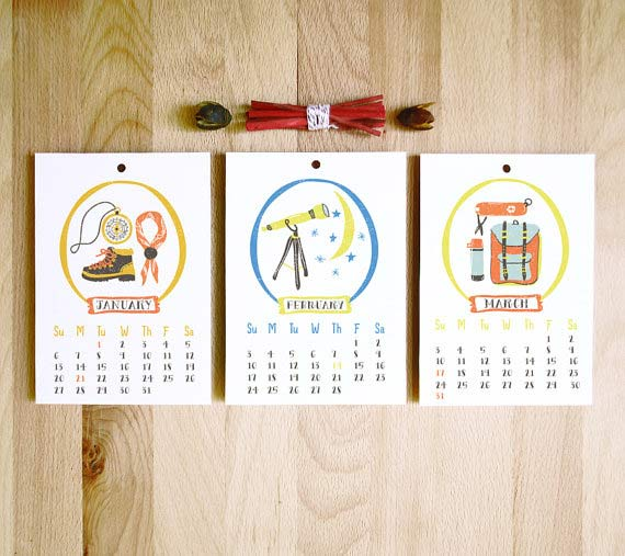 Hanging Calendar Design : Creative calendar designs and ideas scg i commercial